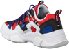 Rode TOMMY HILFIGER Lage sneakers CITY VOYAGER CHUNKY  - small