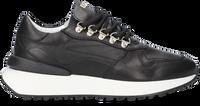 Zwarte RED-RAG Lage sneakers 76846  - medium