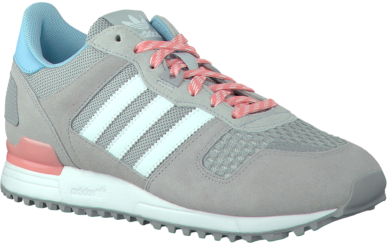 Grijze ADIDAS Sneakers ZX 700 DAMES - Omoda.nl