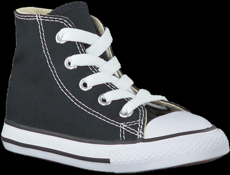 2653d295155 Zwarte CONVERSE Sneakers CHUCK TAYLOR ALL STAR HI KIDS - Omoda.nl