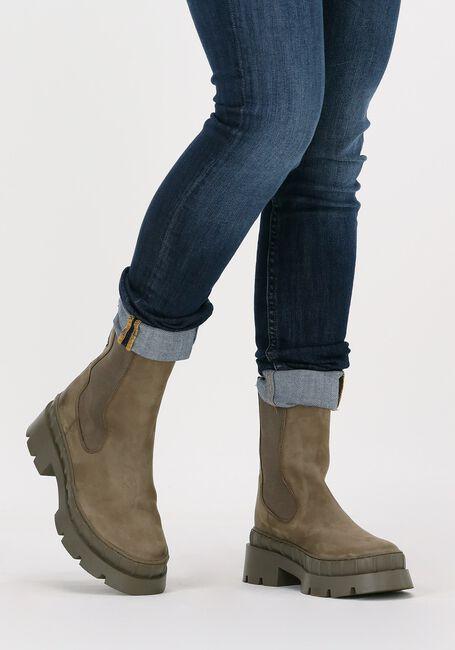 Groene OMODA Chelsea boots LPNORA-02  - large