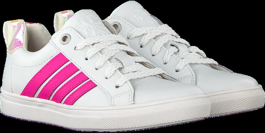 Witte BRAQEEZ Lage sneakers LESLEY LOUWIES  - larger