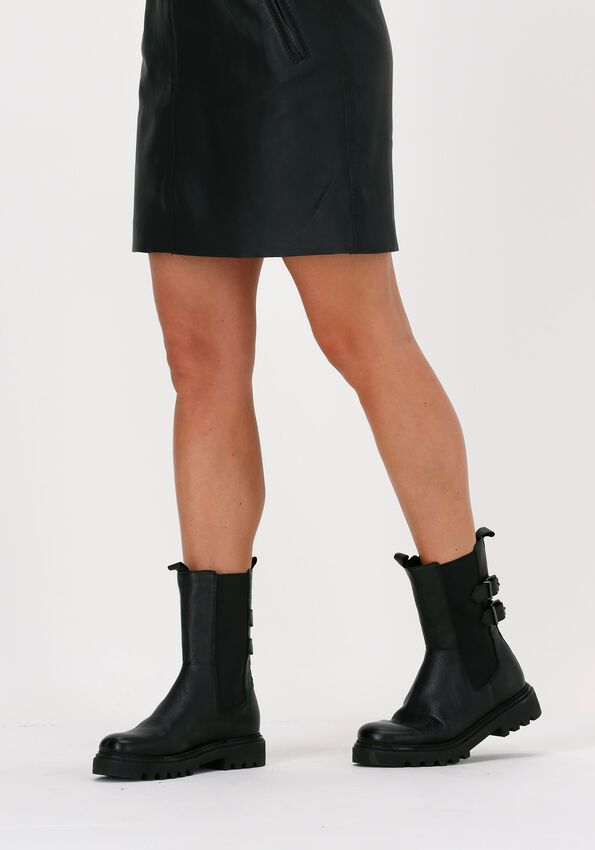 Zwarte OMODA Chelsea boots LPSATURNO  - larger