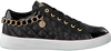 Zwarte GUESS Sneakers FLGLI3 LEA12  - small