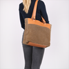 Taupe FRED DE LA BRETONIERE Shopper 282010003 - small