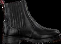 Zwarte HABOOB Enkellaarzen P6708 - medium