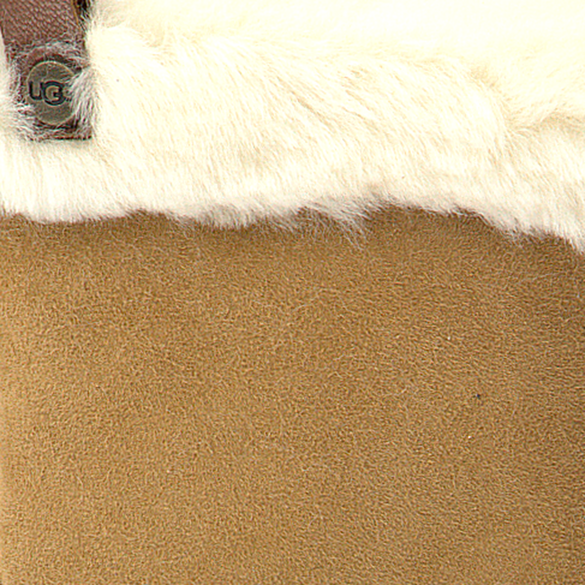 Camel UGG Handschoenen SHORTY GLOVE W/TRIM cKR6wNmO