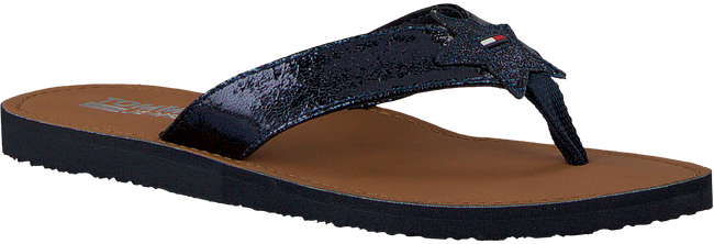 Blauwe TOMMY HILFIGER Slippers GLITTER BEACH SANDAL - large