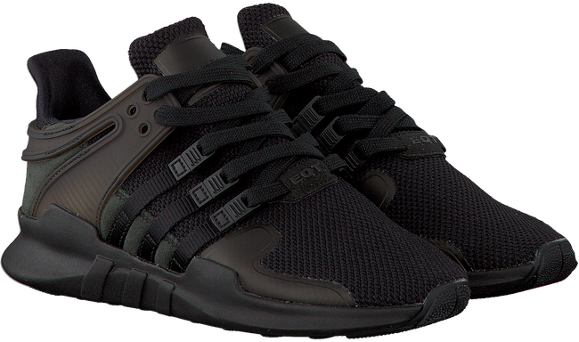 Zwarte ADIDAS Sneakers EQT SUPPORT ADV W  - large