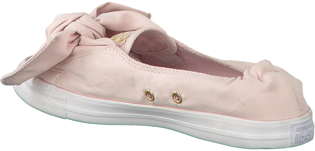 Roze CONVERSE Ballerina's CHUCK TAYLOR ALL STAR KNOT SLIP - large