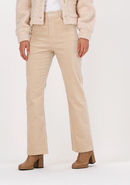 Blauwe VANILIA Pantalon PEAU DE PEC - large