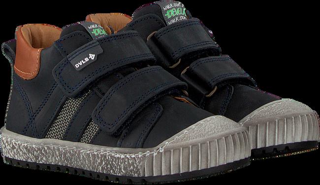 Blauwe DEVELAB Lage sneakers 41603  - large