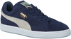 Blauwe PUMA Sneakers SUEDE CLASSIC+ DAMES  - small