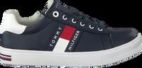 Blauwe TOMMY HILFIGER Lage sneakers LOW CUT LACE-UP SNEAKER - medium