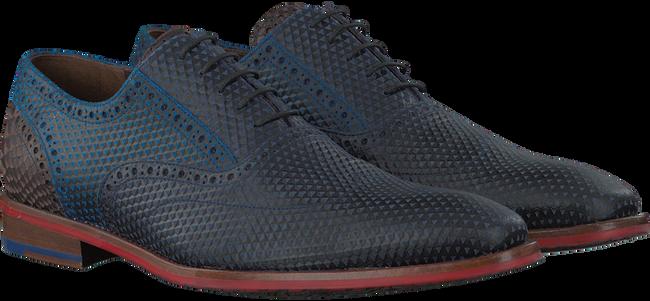 Blauwe FLORIS VAN BOMMEL Nette schoenen 19300  - large