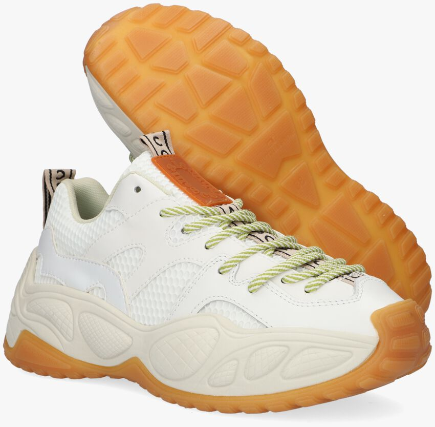 Witte SCOTCH & SODA Lage sneakers LIZZIE  - larger