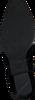 Zwarte NUBIKK Enkellaarsjes HOLLY GOLF  - small