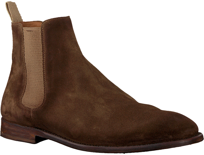 Bruine CORDWAINER Chelsea boots 18540  - large