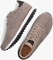 Zilveren WODEN Lage sneakers YDUN PEARL II  - medium