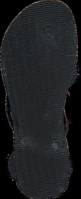 Zwarte HAVAIANAS Slippers SLIM BRASIL LOGO - large
