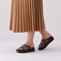 Zwarte SHABBIES Slippers 170020181  - medium