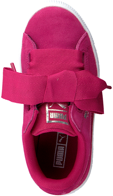 Roze PUMA Sneakers SUEDE HEART SNK PS  - large