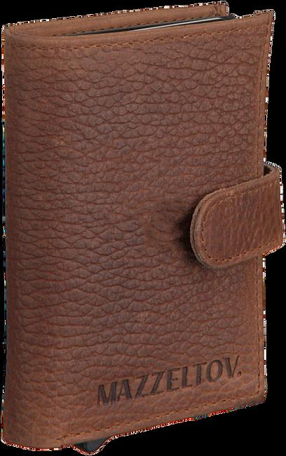Bruine MAZZELTOV Portemonnee 18294  - large