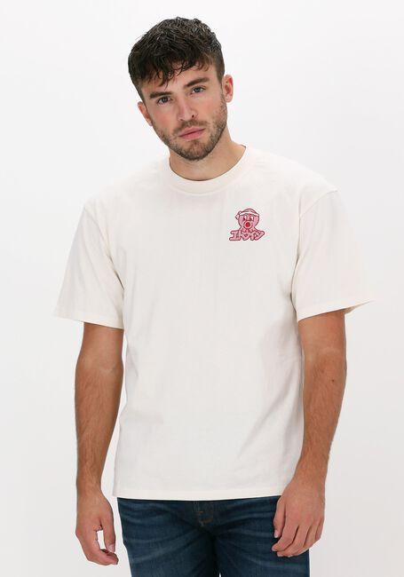 Witte EDWIN T-shirt OFFICE TAKO TS  - large
