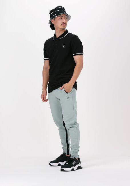 Zwarte CALVIN KLEIN Polo TIPPING SLIM POLO  - large