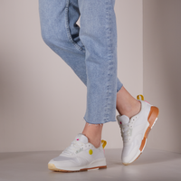 Witte SCOTCH & SODA Lage sneakers VIVI  - medium