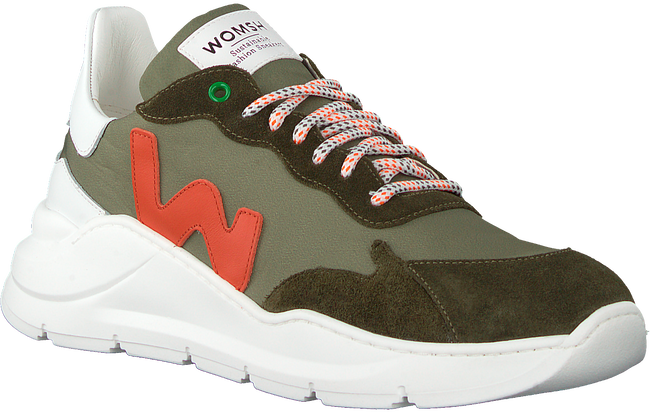 Groene WOMSH Lage sneakers WAVE MEN - large