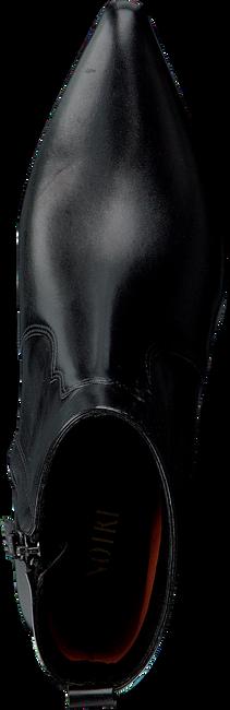 Zwarte NOTRE-V Enkellaarsjes 01A-203  - large