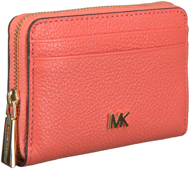 Roze MICHAEL KORS Portemonnee ZA COIN CARD CASE  - large
