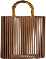 Bruine BECKSONDERGAARD Handtas WILLET BAG  - medium