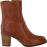 Cognac SHABBIES Enkellaarsjes 183020153 SHS0427  - medium