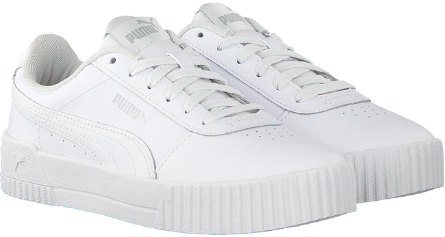 Witte PUMA Sneakers CARINA - large