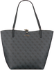 Grijze GUESS Handtas ALBY TOGGLE TOTE  - small