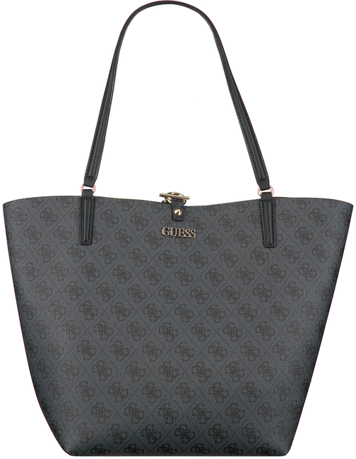 Grijze GUESS Handtas ALBY TOGGLE TOTE  - large