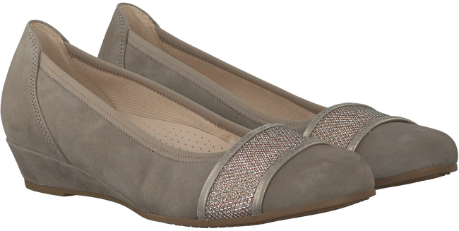 Taupe GABOR Ballerina's 696  - large