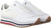 Witte TOMMY HILFIGER Lage sneakers FEMININE MONOGRAM  - small