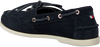 Blauwe TOMMY HILFIGER Instappers CLASSIC BOAT SHOE WMNS  - small