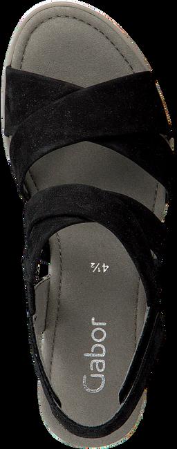 Zwarte GABOR Espadrilles 759.1 - large