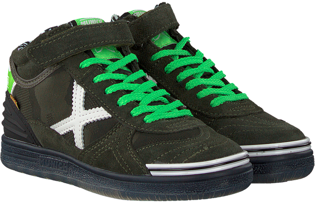 Groene MUNICH Sneakers G3 BOOT - large
