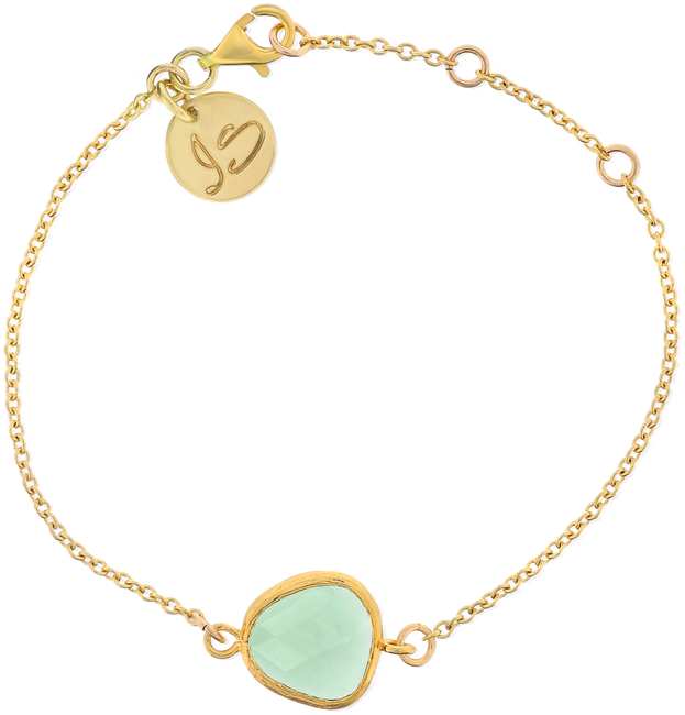 Gouden JEWELLERY BY SOPHIE Armband BRACELET WE LOVE - large