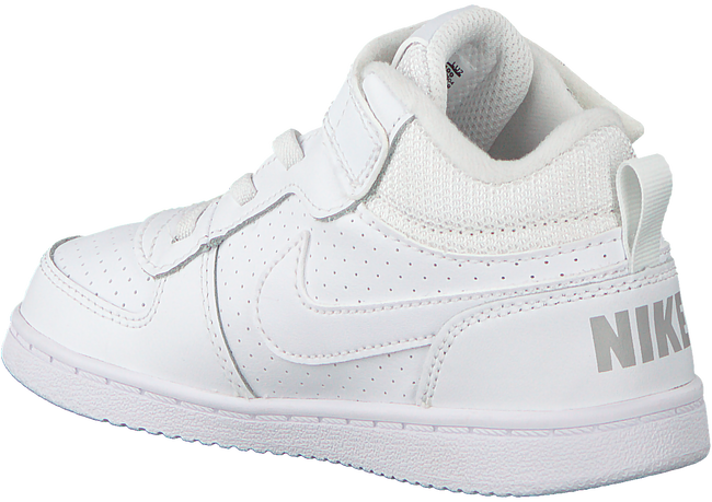 Witte NIKE Sneakers COURT BOROUGH MID (KIDS)  - large