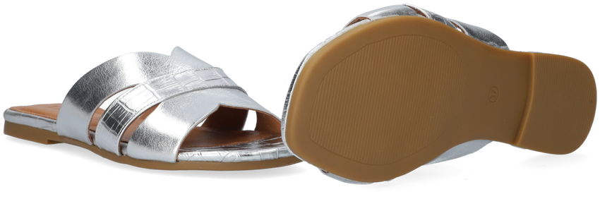 Zilveren TANGO Slippers MADISON 2  - larger