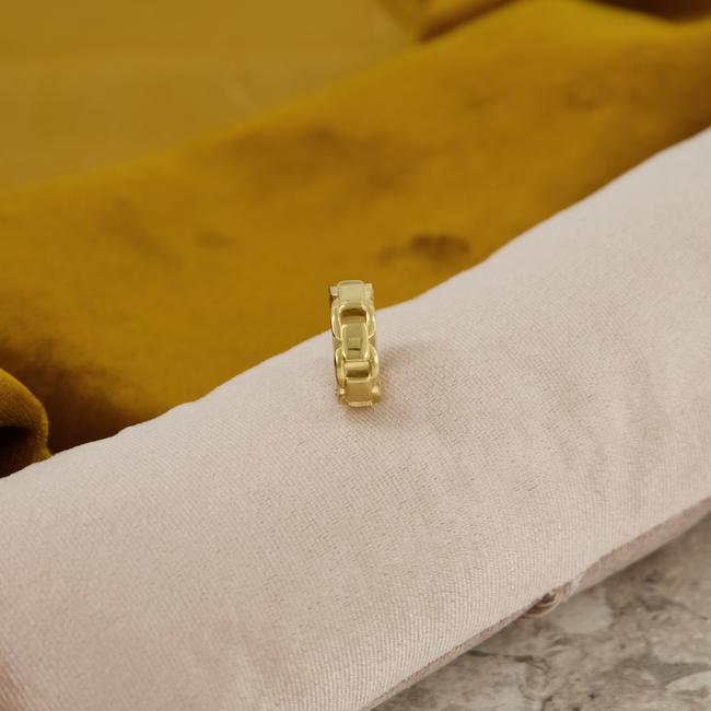 Gouden NOTRE-V Ring RING SCHAKEL ONE SIZE  - large