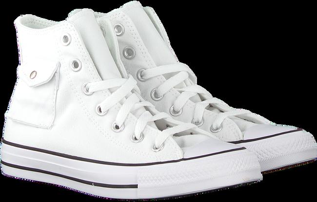 Witte CONVERSE Hoge sneaker CHUCK TAYLOR ALL STAR POCKET HI 8xcEhfgO