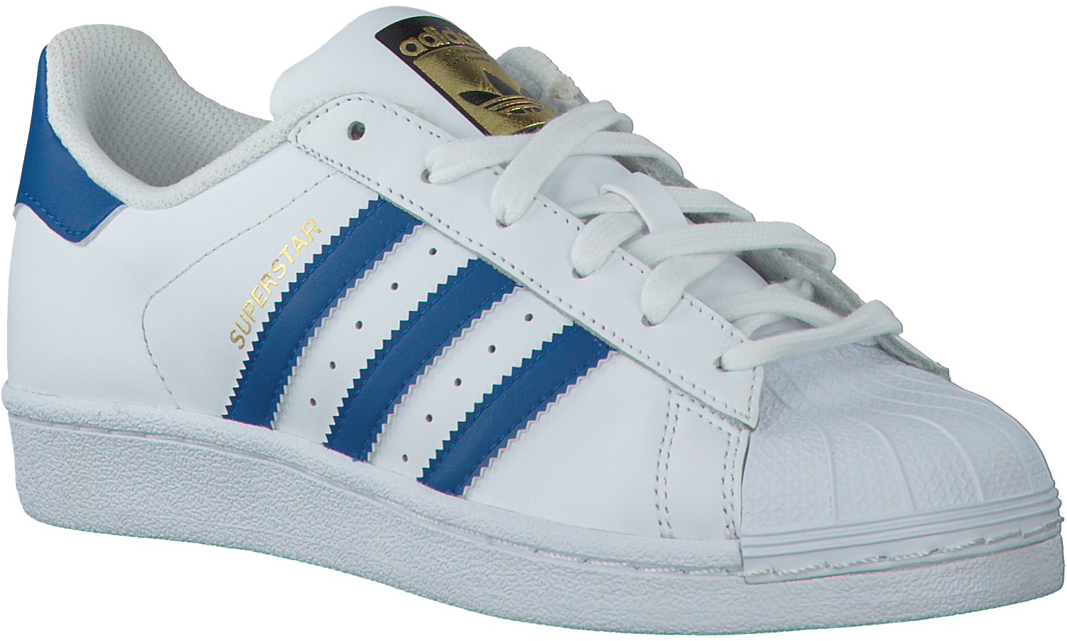 76767a8a84b Witte ADIDAS Sneakers SUPERSTAR KIDS - Omoda.nl