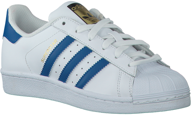 Witte ADIDAS Sneakers SUPERSTAR KIDS  - large